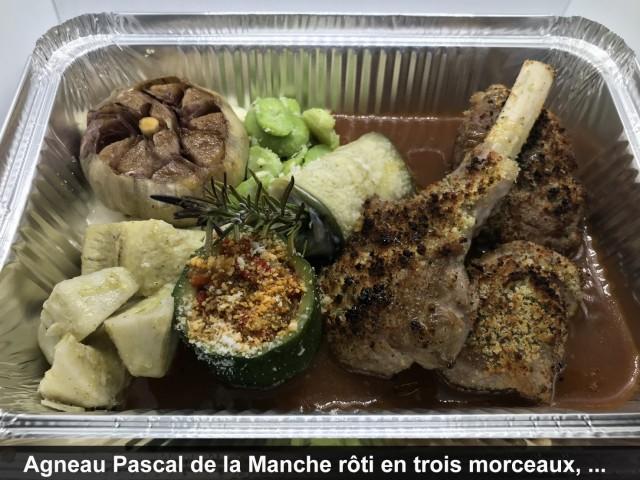 La Bisquine Agneau Pascal de la Manche rôti en trois morceaux ...