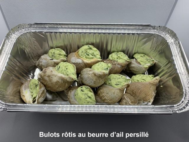 La Bisquine Bulots rôtis au beurre d'ail persillé