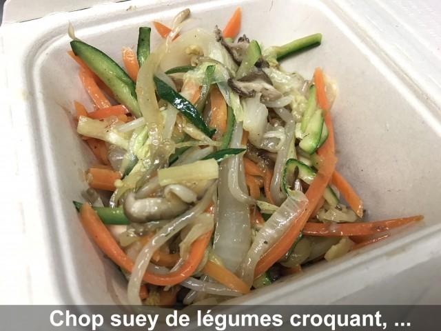 La Bisquine Chop suey de légumes croquants, ...