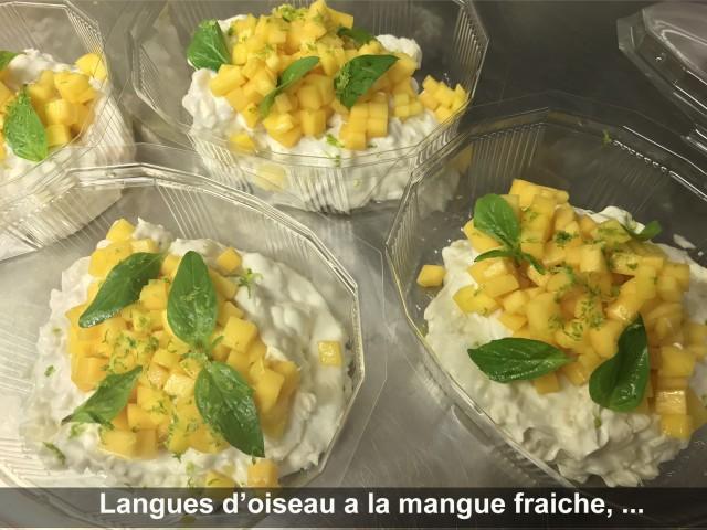 La Bisquine Langues d'oiseau à la mangue fraiche, ...