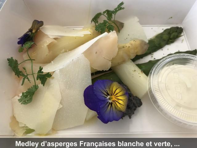 La Bisquine Medley d'asperges Françaises blanche et verte, ...