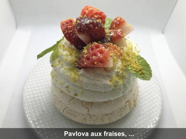 La Bisquine Pavlova aux fraises, ...