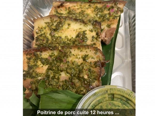 La Bisquine Poitrine de porc cuite 12 heures ...