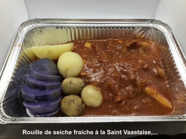 La Bisquine Rouille de seiche fraiche à la Saint Vaastaise, ...