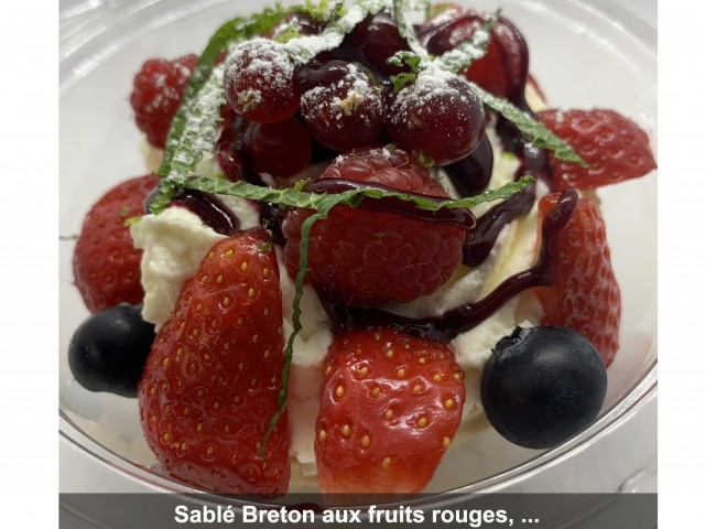 La Bisquine Sablé Breton aux fruits rouges, ...