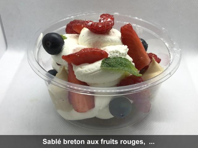 La Bisquine Sable breton aux fruits rouges, ...