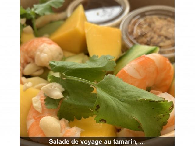 La Bisquine Salade de voyage au tamarin,