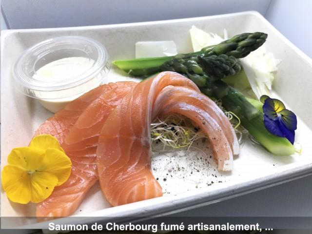 La Bisquine Saumon de Cherbourg fumé artisanalement, ...