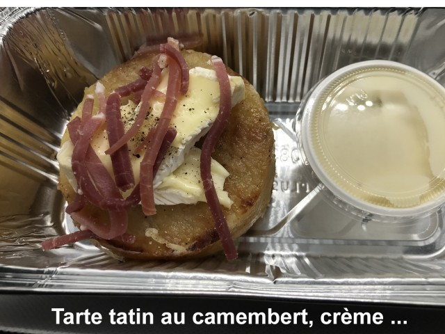 La Bisquine Tarte tatin au camembert, ...