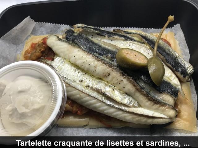 La Bisquine Tartelette craquante de lisettes et sardines, ...