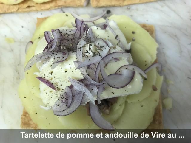 La Bisquine Tartelette de pomme et andouille de Vire ...