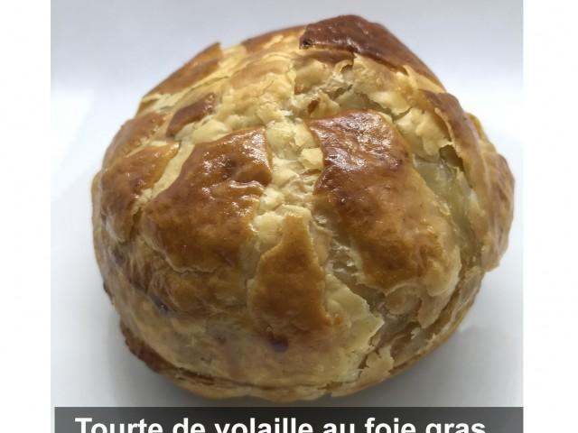 La Bisquine Tourte de volaille au foie gras